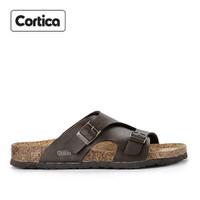 Sandal Kulit Cortica Kasual 15 Leather Original