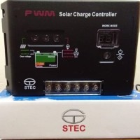 Solar Charge Controller Stec 20a Pwm 12v / 24v