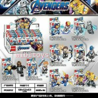 Avengers End Game Super hero minifigure lego infinity marvel PG6012