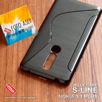 Soft Jelly Case Nokia 3.1 Plus Softcase Silicon Silikon Casing Cover