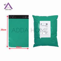 Plastik Packing Kemasan 25x35 cm ( Polymailer ) Hijau - ADDA HOME