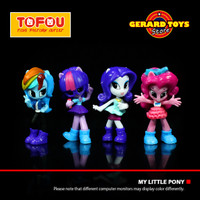 Mainan Ponnyville My Little Pony Equestria Girl Set isi 4 MURAH BANGET