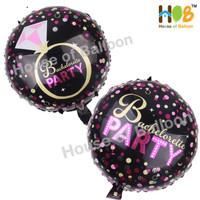 Balon Foil Bulat Bridal Shower Bachelorette Party Bachelor Bride