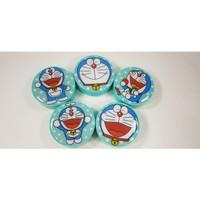 Kotak Softlens NEW Doraemon Bulat / Travel Kit Tempat Softlens