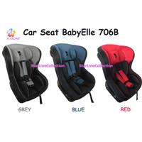 BabyElle 706B / Red / Blue / Grey / Car Seat /Dudukan Kursi Mobil Bayi