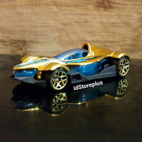 DIECAST HOT WHEELS Formula Street Gold HW Y5 Monster Mission - Loose