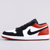 Air Jordan 1 Low Bred Toe (UNAUTHORIZED AUTHENTIC)