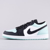 Air Jordan 1 Low Mist Green (UNAUTHORIZED AUTHENTIC)