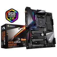Motherboard Gigabyte X570 AORUS MASTER AM4 Support Ryzen 3000