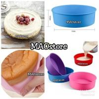 MAOSTORE CETAKAN ENTREMET CAKE CETAKAN ROUND MIRROR CAKE LOYANG BULAT