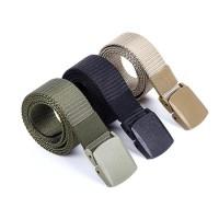 Ikat Pinggang Tactical Duty Belt Military Style Outdoor WARNA POLOS