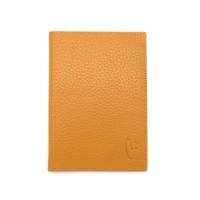 VERMONT F002 Classic Mustard - Genuine Leather Passport Cover Original