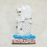 Magnet Kulkas Merlion Resin Singapore 139