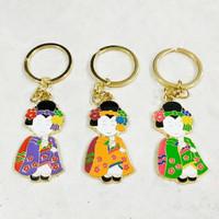 Gantungan Kunci Geisha Jepang