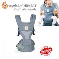 ORIGINAL Ergobaby Hipseat Cool Air Mesh Carrier Oxford Blue