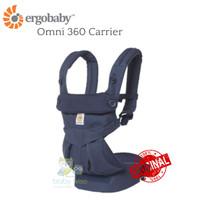 ORIGINAL Ergobaby Omni 360 Carrier - Navy Mini Dots