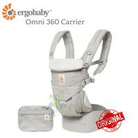 ORIGINAL Ergobaby Omni 360 Carrier - Pearl Grey