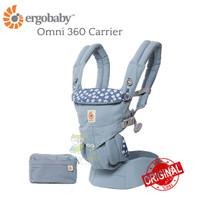 ORIGINAL Ergobaby Omni 360 Carrier - Blue Daisy