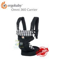 ORIGINAL Ergobaby Omni 360 Carrier - Gingham Noir