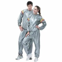 Setelan Baju dan Celana Sauna suit Olahraga/ Baju Sauna serbaguna
