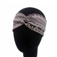 Harga bando ikat rambut cloth ethnic style cross over hair band | antitipu.com