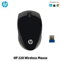 MOUSE WIRELESS HP 220 ORIGINAL - HITAM