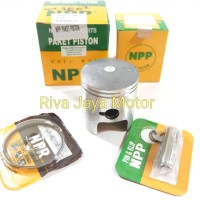 Piston Kit / Seher Set Ts125 TS 125 Oversize 100 Npp