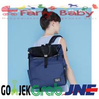 Natural Moms Flip Blue Backpack / Tas Asi