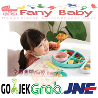 Monee Dinosaur Silicone Suction Food Plate