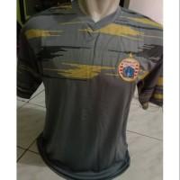 Kaos Baju Bola Jersey Persija Latihan Official Terbaru 2019 Abu