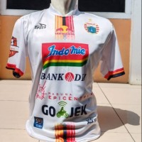 Kaos Baju Bola Jersey Persija Away Putih 2019 Grade Ori Lokal