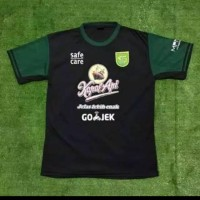 Kaos Baju Bola Jersey Persebaya 3rd Hitam 2019 Terbaru Grade Lokal