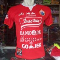 Kaos Baju Bola Jersey Persija Home 2019-2020 Terbaru GO Lokal