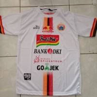 Kaos Baju Bola Jersey Persija Away Dewasa Putih 2019 Liga Terbaru