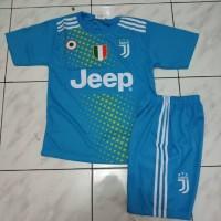 Baju Bola Jersey Setelan Anak Juventus Biru Terbaru 2019-2020