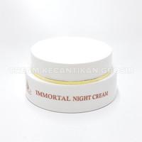 CREAM MALAM PENCERAH WAJAH PLUS ANTI AGING IMMORTAL NIGHT CREAM