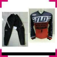 Pakaian bersepeda 8233 jersey celana trail cross sepeda lengan panjang