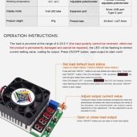 Aksesoris Elektronik Rui Deng LD25 USB Electronic Load Resistor