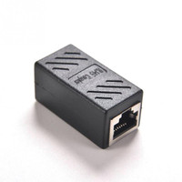RJ45 Female to Female Cat6 Network LAN Extension Adapter Connector