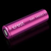Efest IMR 14500 Battery 650mAh 3.7V 9.75A with Flat Top - 14500V1