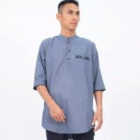 Harga al isra hazwan baju koko kemeja kurta pakistan fashion muslim pria | antitipu.com