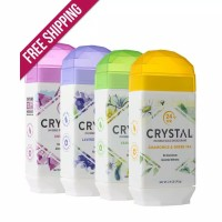 Crystal Body Deodorant Invisible Solid Deodorant 70 gram Stick