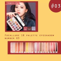 Focallure 18 Warna Eyeshadow Palette Original