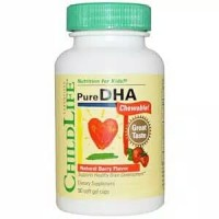 Childlife Pure DHA Natural Berry Flavor 90 soft gel caps