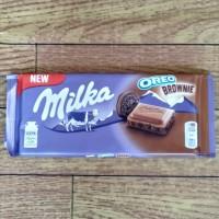 Milka Oreo Brownies