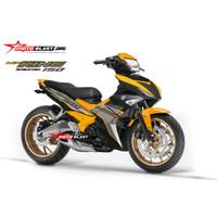 Decal stiker Yamaha Mx king 150 Orange sport