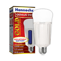 Lampu Led Emergency - Led Magic - Hannochs Genius GOLD 9 Watt