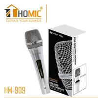 MIKROPON / MICROPHONE /KABEL STAINLESS HOMIC HM-6000 - VOLUME CONTROL