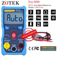 Zotek ZT-S3 Auto True RMS Multitester AC DC 600V + NCV Avometer