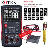 Zotek ZT-X Digital Multimeter Auto True Range RMS AC / DC Volt Amp Ohm